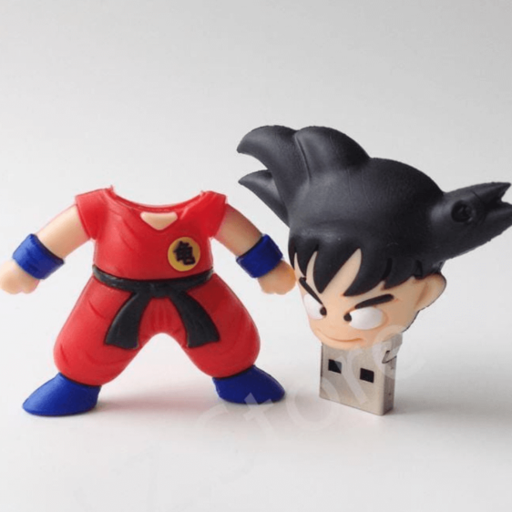 Dragon Ball Z - Goku Cute USB Flash Drive 4GB 8GB 16GB 32GB