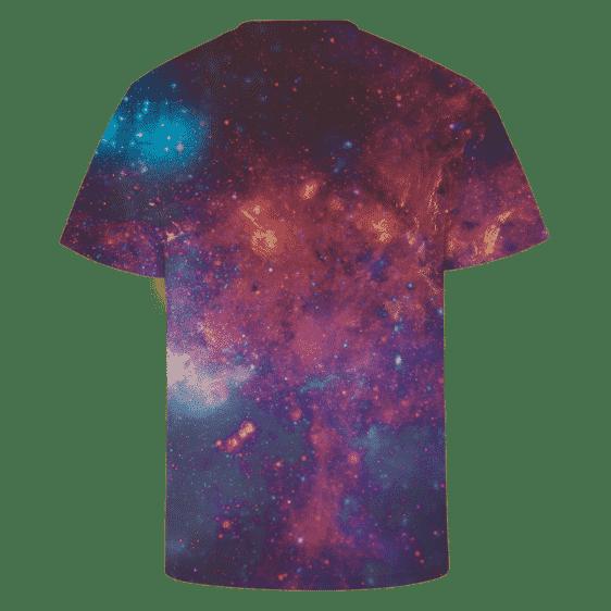 DBZ Super Saiyan Prince Vegeta Space Galaxy 3D T-Shirt