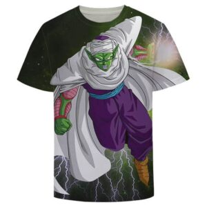 Green Z-Fighter Super Warrior Piccolo Dragon Ball T-Shirt