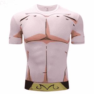 Kid Buu Majin Boo Pure 3D Cosplay Skin Workout T-Shirt