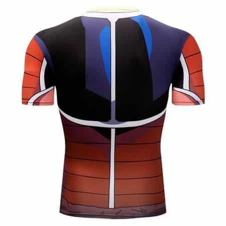 Brutal Raditz Frieza's Forces Battle Armor 3D Workout T-Shirt
