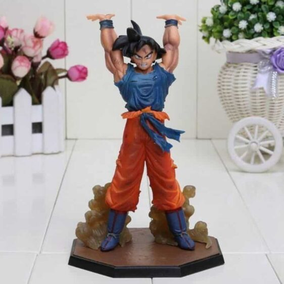 DBZ Son Goku Spirit Bomb Genki Dama 6.8′ PVC Action Figure