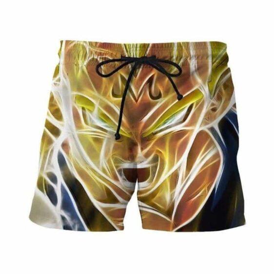 Dragon Ball Z - Super Saiyan Majin Vegeta 3D Swim Trunks Shorts