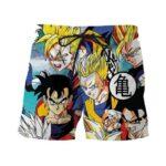 Classic Dragon Ball Z Cool Son Gohan Stylish 3D Summer Shorts