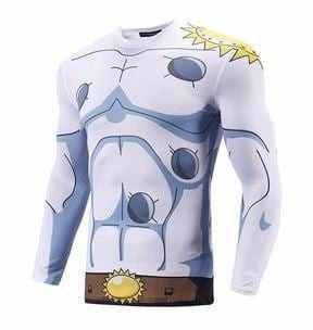 ANGEL DIGIMON ANGEMON SKIN LONG SLEEVES FITNESS COMPRESSION 3D SHIRT (1)