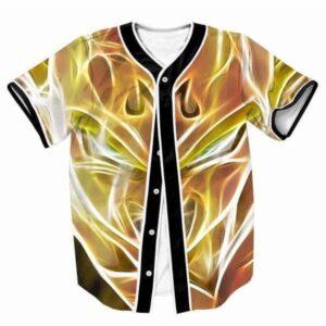 Super Saiyan Majin Vegeta DBZ Streetwear Hip Hop 3D Baseball Jersey