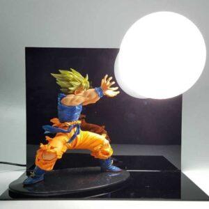 Dragon Ball Kamehameha Attack Super Saiyan Son Goku DIY Display Lamp