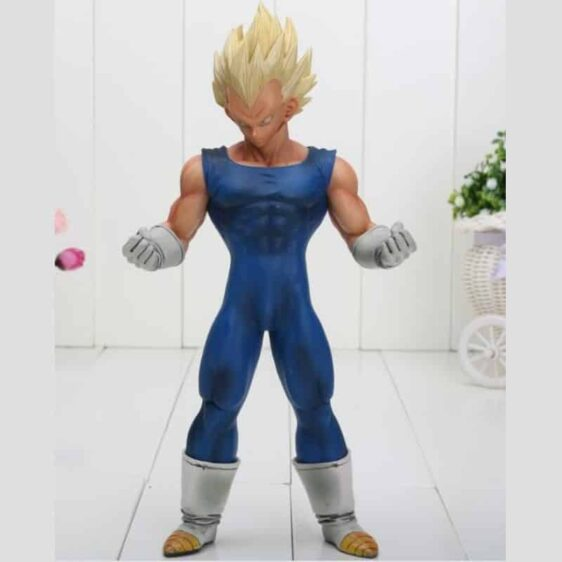 Dragon Ball Z Super Saiyan Vegeta Blue Costume PVC Action Figure