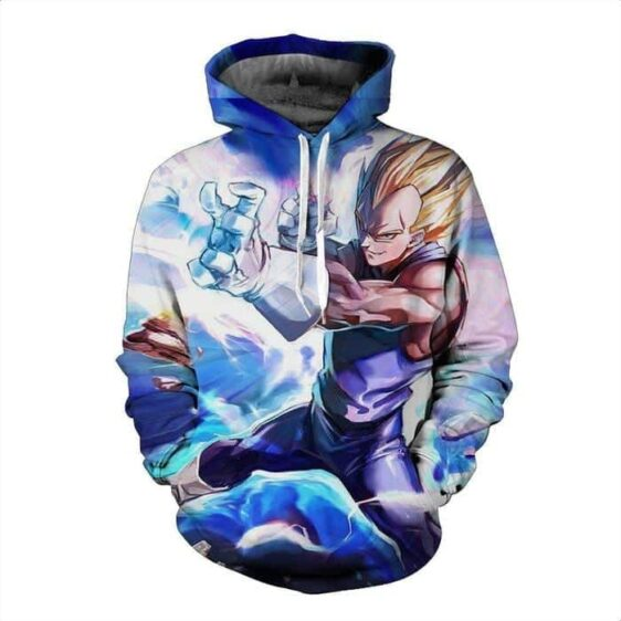 DBZ Vegeta Saiyan Prince Power Warrior Streetwear Cool Design Hoodie