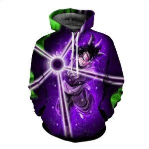 DBZ Goku Black Zamasu Power Ball Attack Cool Design Streetwear Hoodie