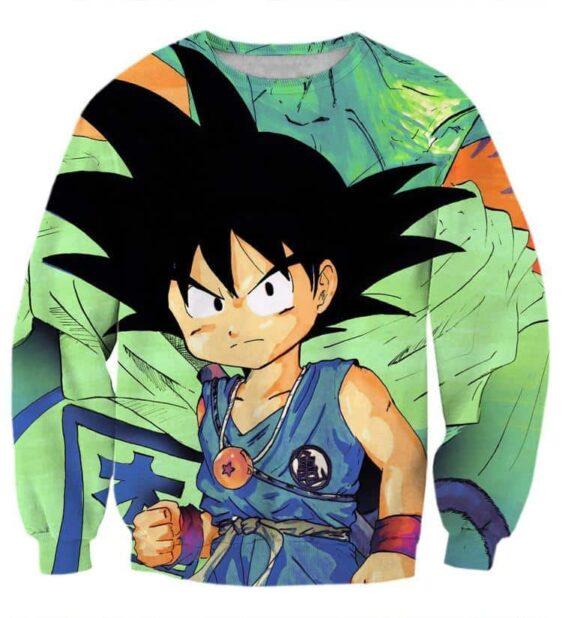 Dragon Ball Goku Kid Necklace Namekian Kami Cool Design Dope Sweatshirt