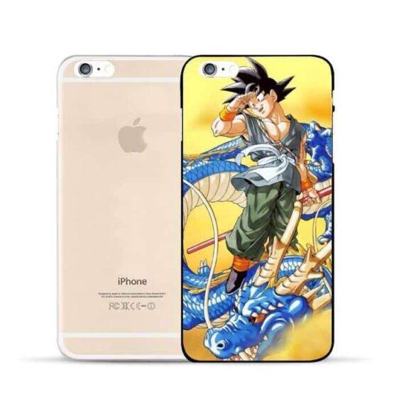 Dragon Ball Goku Ride Blue Shenron Awesome Design Hard PC iPhone 5 6 7 s Plus Case