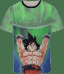 Dragon Ball Goku Spirit Bomb Destruction Skill Streetwear Design T-Shirt