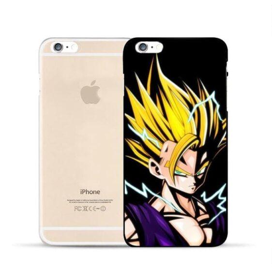 Dragon Ball Gohan Super Saiyan Kid Fan Art Amazing iPhone 5 6 7 s Plus Case