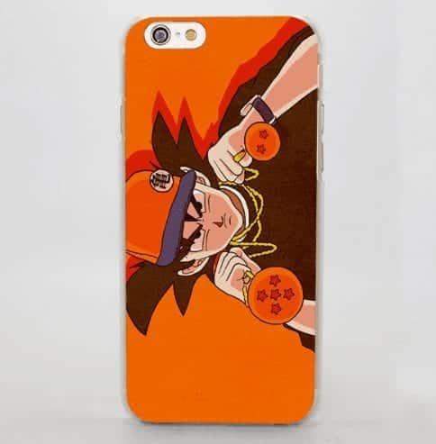 Goku Hip Hop Gangsta Urban Orange Cool iPhone 5 6 7 Plus Case