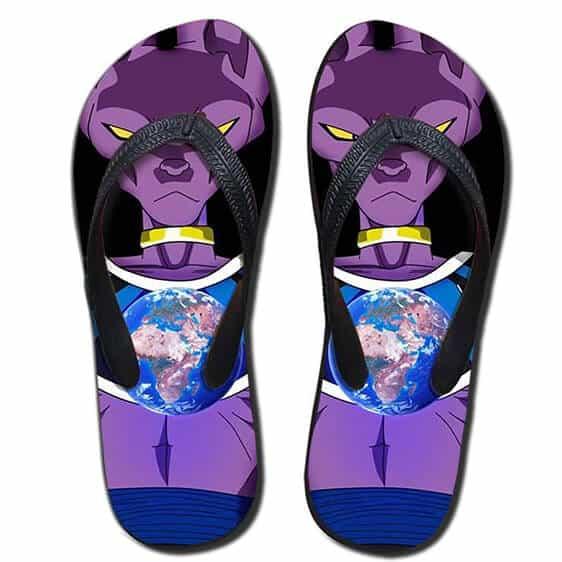 DBZ Beerus God Destruction Earth Dope Summer Sandals Flip Flops Shoes