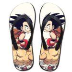 DBZ Kid Goku Flying Nimbus Cloud Sandals Beach Flip Flops Shoes