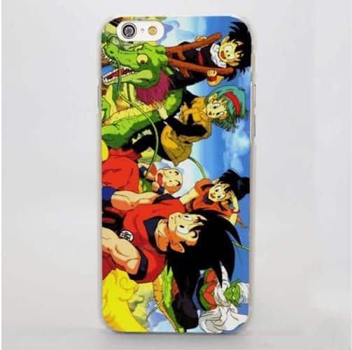 Dragon Ball Goku Chichi Bulma Gohan Piccolo Shenron Manga iPhone 4 5 6 7 8 Plus X Case