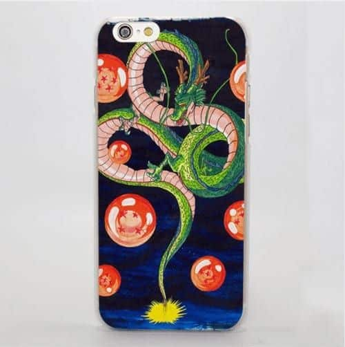Dragon Ball Shenron God Dragon Summon Creature Manga iPhone 4 5 6 7 8 Plus X Case