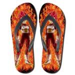 DBZ Vegeta Super Saiyan Rose Whis Symbol Sandals Flip Flop Shoes