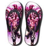 Kid Buu Planet Burst Technique Pink Summer Sandals Flip Flops Shoes