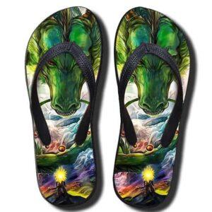 Shenron DBZ The Powerful Eternal Dragon Summer Sandals Flip Flops Shoes