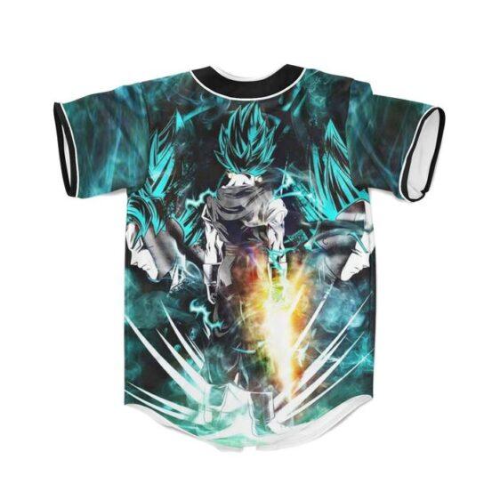 Dragon Ball Vegito Super Saiyan Power Up Potara Fusion Design Baseball Jersey