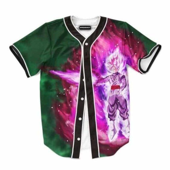 DBZ Goku Black Super Saiyan Rose Villain Baseball Jersey