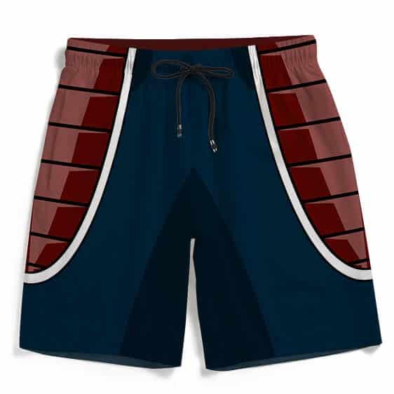 Raditz Villain Saiyan Armor Cosplay Summer Swimming Trunks