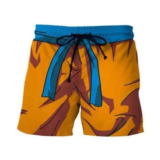 Son Goku Orange Costume DBZ Cosplay Swimming Trunks