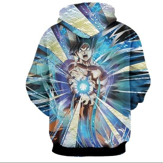 Powerful Ultra Instinct Goku Dope Style Full Print Hoodie