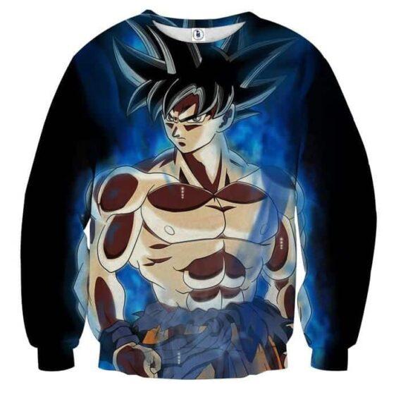 Dragon Ball Son Goku Battle Muscular Portrait Cool Sweatshirt