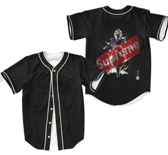 DBZ Goku Black Fused Zamasu Supreme Baseball Jersey