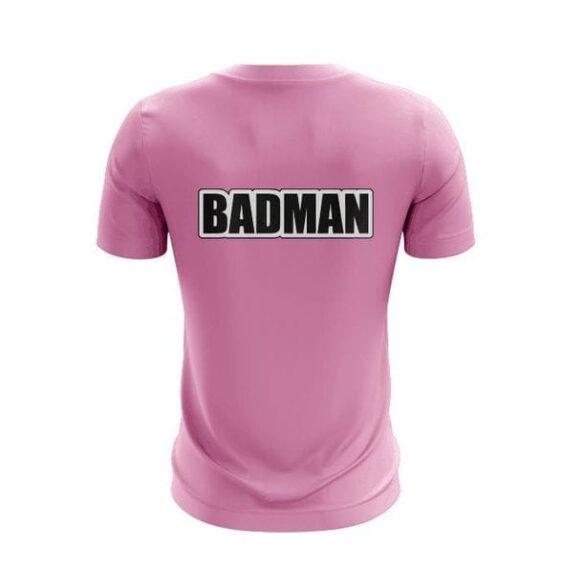 Dragon Ball Z Vegeta Bad Man Pink Awesome T-shirt