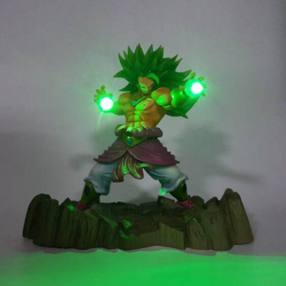 Super Saiyan Broly Power Up Figure DBZ LED Light Lamp