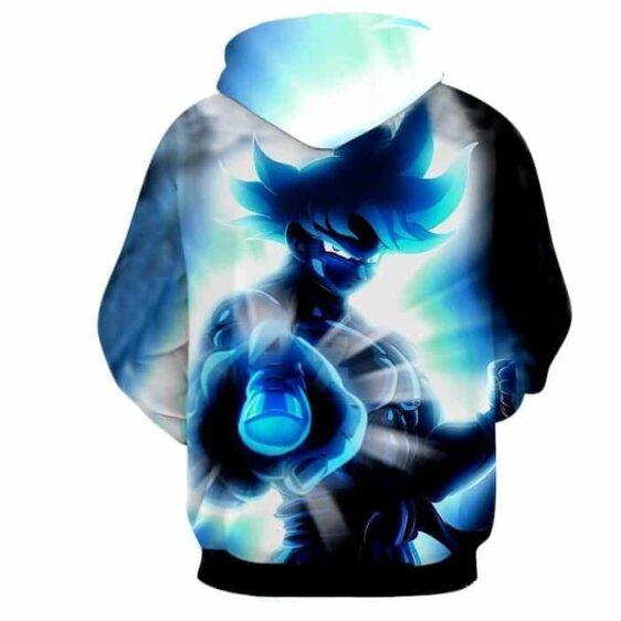 Dragon Ball Super Blue Son Goku Epic Ultra Instinct Hoodie