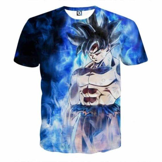 Dragon Ball Super Goku Ultra Instinct Blue Cool Casual T-Shirt