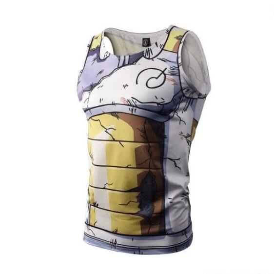 Dragon Ball Super Vegeta Damaged Whis Armor Suit Compression Tank Top