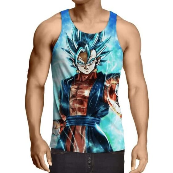 Dragon Ball Super Vegito 2 Blue Super Saiyan Kaioken Tank Top
