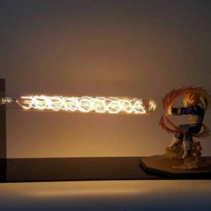 DBZ Super Saiyan Vegeta Super Galick Gun DIY 3D LED Light Lamp