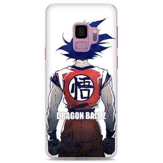 DBZ Goku Saiyan Back View Samsung Galaxy Note S Series Case