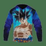 Dragon Ball Z Son Goku Ultra Instinct With Blue Aura Hoodie