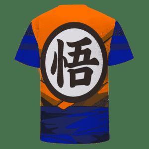 Dragon Ball Z Super Saiyan 1 Goku Inspired Cosplay T-Shirt