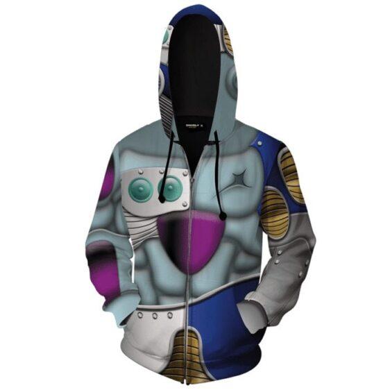 DragonBall Xenoverse 2 Mecha Frieza Cosplay Zip Up Hoodie