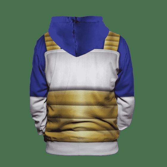 Dragon Ball Z Vegeta Inspired Classic Suit Cosplay Hoodie