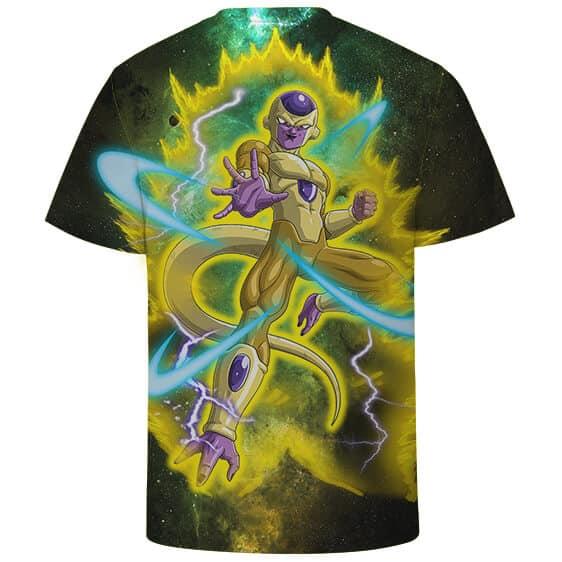 Dragon Ball Z Golden Form Frieza In His Yellow Aura T-Shirt