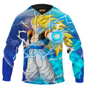 Dragon Ball Z The Marvelous Gogeta Super Saiyan 3 Hoodie