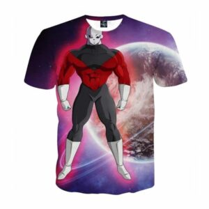 Dragon Ball Z The Unstoppable Jiren The Gray Purple T-Shirt