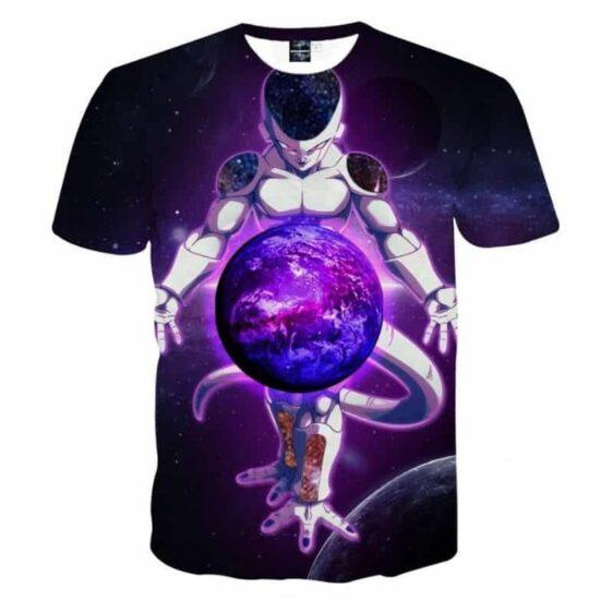 Dragon Ball Z The Merciless Lord Frieza Black T-Shirt