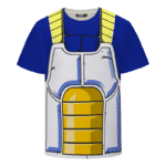 Dragon Ball Z Vegeta Inspired Fashionable Cosplay T-Shirt